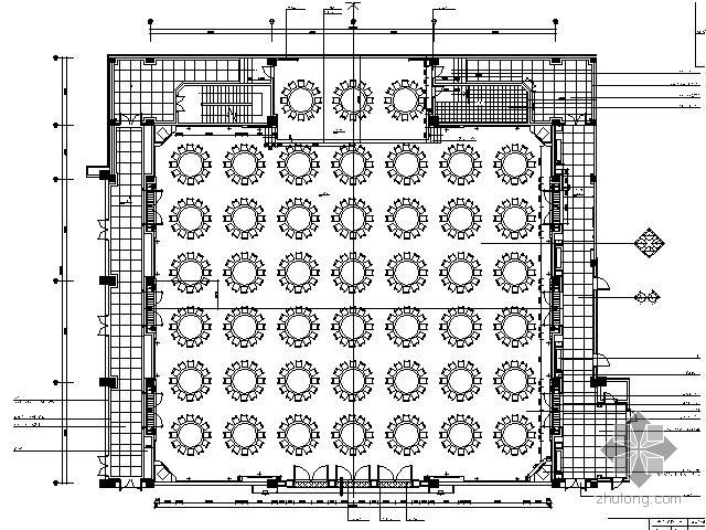 五星生态园林酒店宴会厅施工图