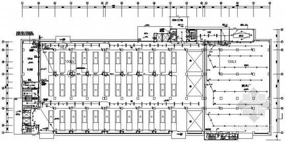四层重型厂房电气施工图纸