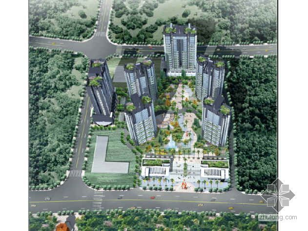 [宜昌]某特色纯板式超高层滨江豪宅与极品会所设计分析