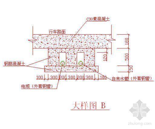 上海某商业中心地下管线保护方案