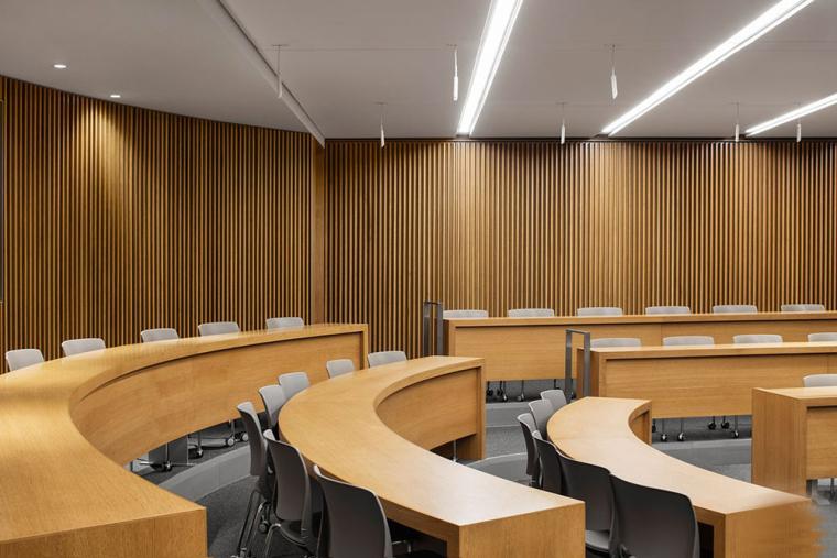 哥特式学术建筑普林斯顿大学校园内部实景图 (15)