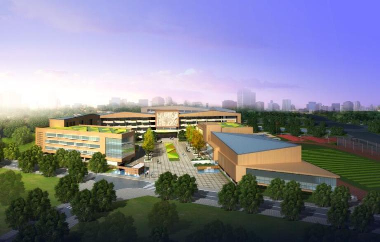 [山西]朔州市某高级中学展板方案设计