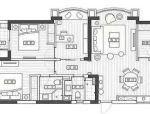 113㎡挤出4室2厅,简约轻奢设计,住着真舒服!