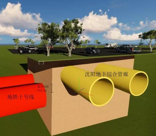 中建六局首个盾构法施工综合管廊隧道全部贯通_12