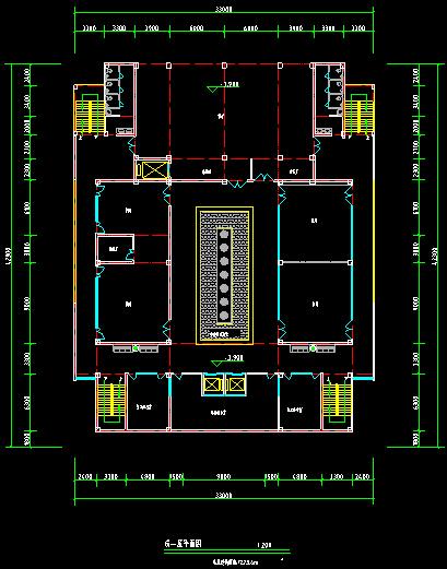50套商业、酒店、办公楼建筑方案施工效果图纸_6