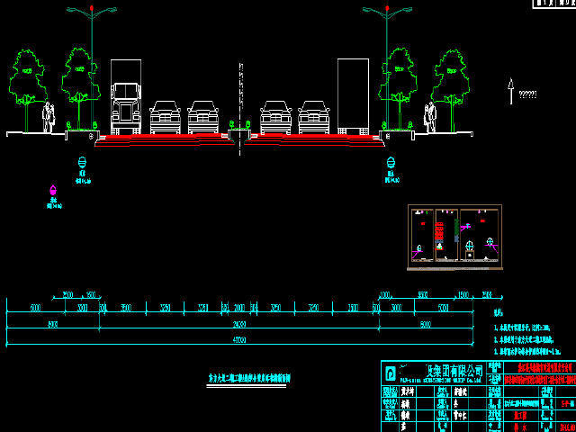 2016年市政道路三舱地下综合管廊工程图纸282张CAD附计算书(电力通信给水燃气污水)