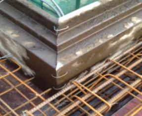 墙钢模板线条施工质量控制