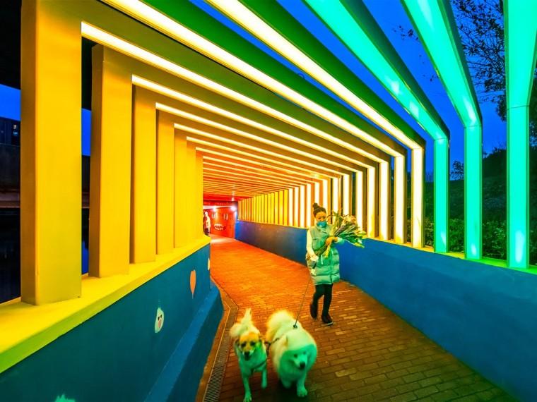 上海金地格林世界社区彩虹通道