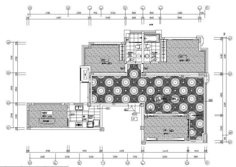 林开新-融侨锦江悦府样板房施工图设计(包含实景图)