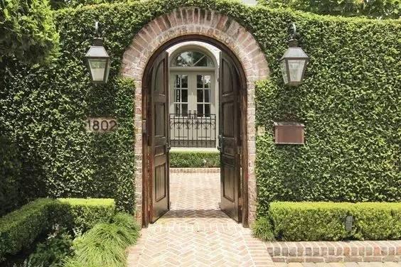 50款·漂亮的庭院入口_34