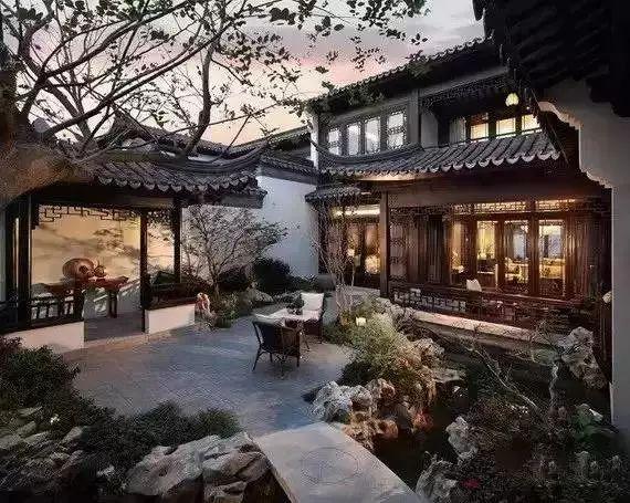 这才是中国人的院子,秋天美到骨子里_14