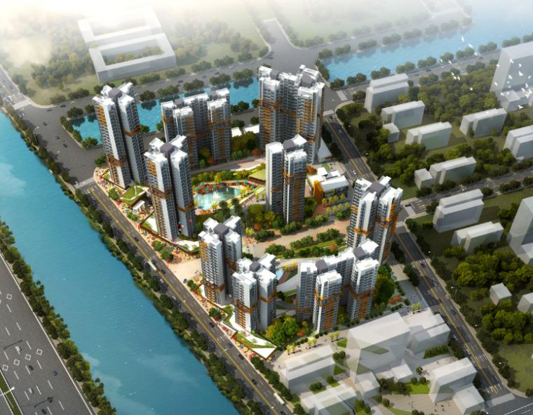 商品房屋建设项目创广州市安全文明示范工地汇报材料
