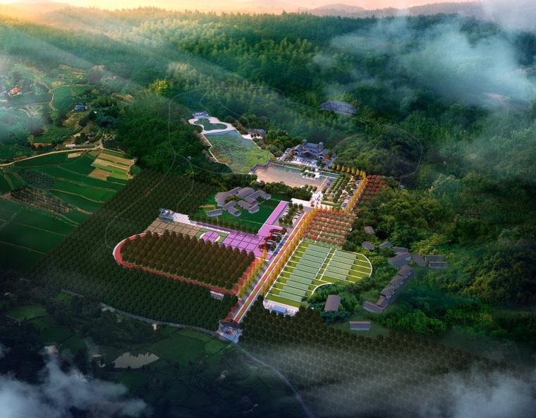 重庆冠领园林农旅设计图:博科农业园