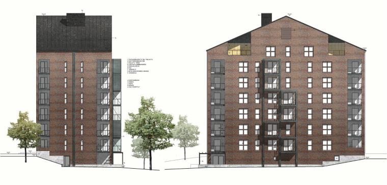 芬兰Albertinpiha公寓楼-16