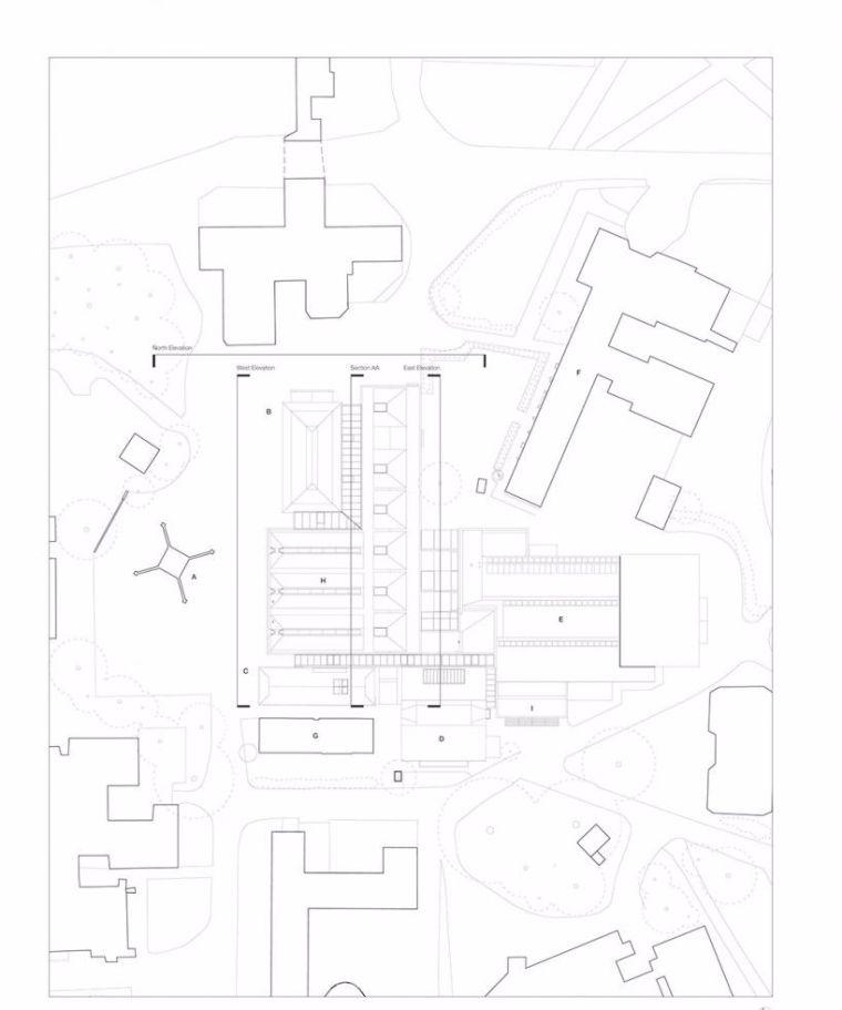 校园建筑设计:英国拉德利学院/案例