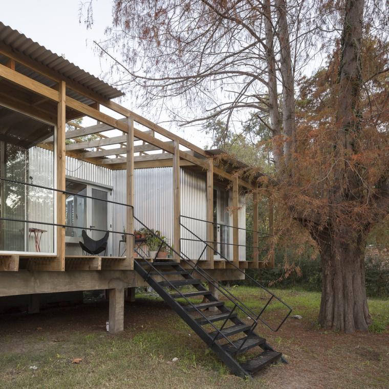 阿根廷三角洲住宅-6