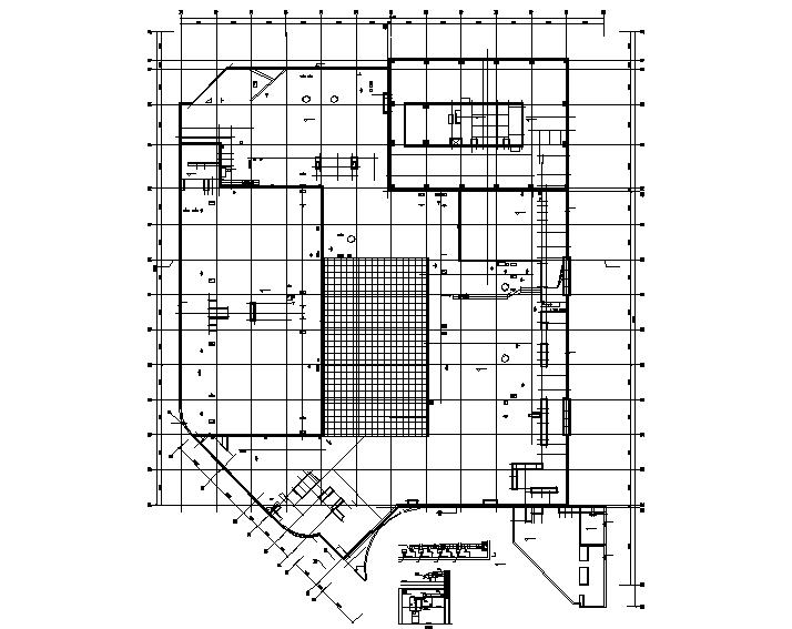 [吉林]长春知名地产大型影院暖通设计施工图