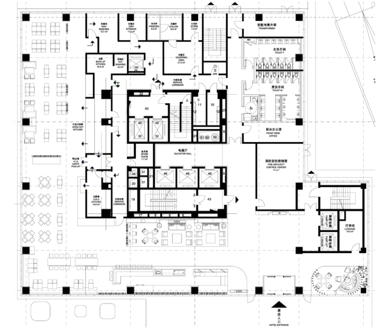 Aedas凯达-德清凯悦酒店概念方案+效果国+灯光概念