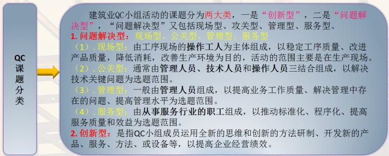 建筑业QC小组活动基础知识培训PPT(94页,内容全面)