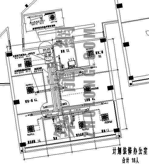 VRV与全热交换器结合方案图