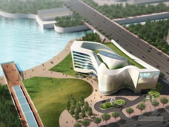 [郑州]大型展览馆建筑设计方案文本