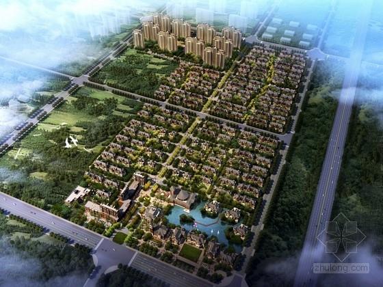 [河北]固安城市规划及单体设计方案文本(含CAD)