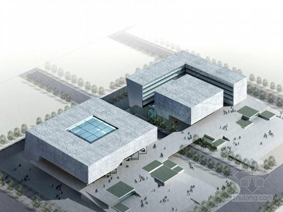 [江苏]大型文化中心规划及单体设计方案文本(含CAD、  多媒体文件)
