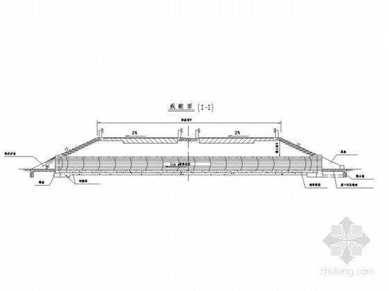 钢筋混凝土圆管涵施工方案通用图设计