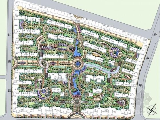 [江西]东南亚风格住宅小区景观方案设计文本