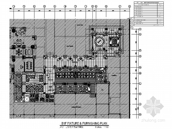 [海南]奢华品牌五星级酒店中餐厅装修施工图(含效果)