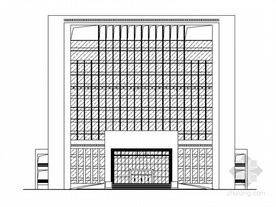 [广东]十三层现代风格办公服务中心建筑施工图