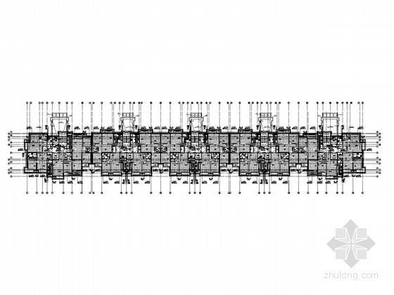 [北京]高层住宅楼采暖通风排烟加压送风系统设计施工图