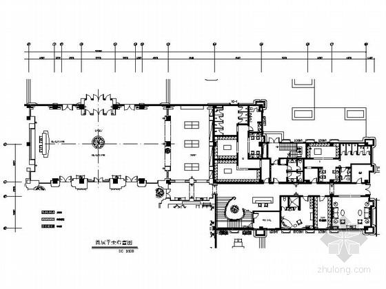 [武汉]中央别墅区高尔夫会所室内装修图(含效果)