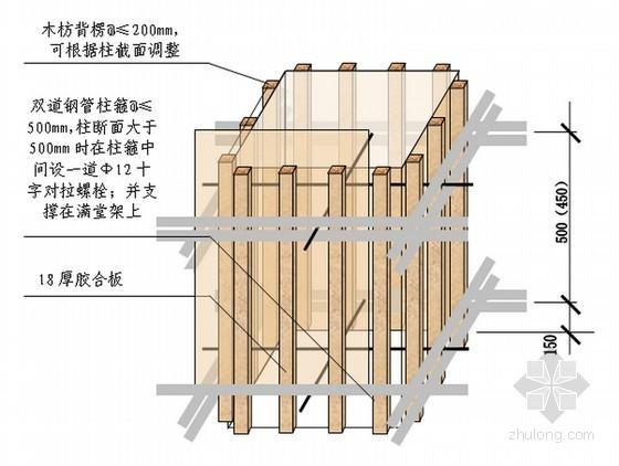 教学楼工程高支模专项施工方案