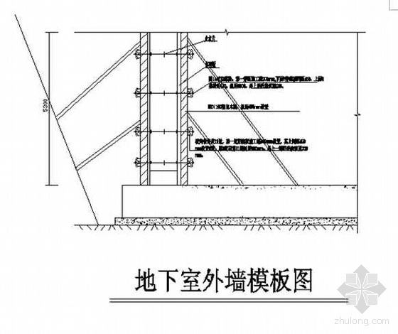 青岛某高层模板工程施工方案(定型钢模板 多层板)