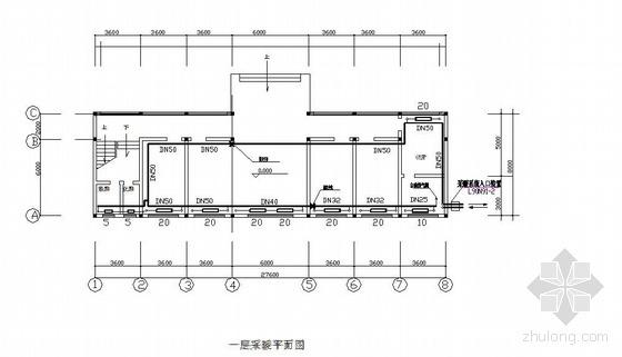 某三层办公楼采暖施工图