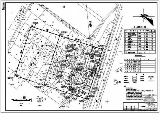 湖北某污水处理厂全套结构图