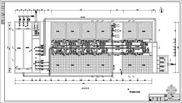 某污水处理厂生物滤池工艺图