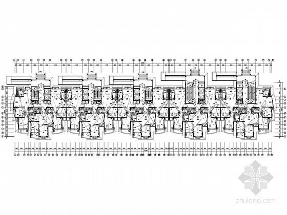 [济南]二十二层花园小区全套电气施工图纸