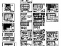 某单层工业厂房建筑结构图