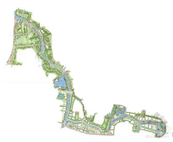 Edaw南京河道两侧景观设计1号方案