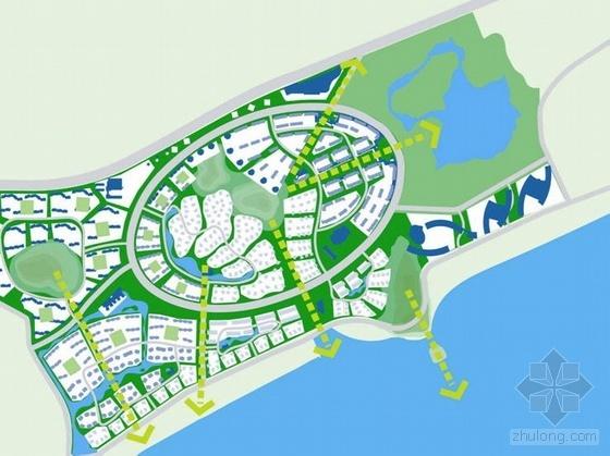 大连居住区域总体概念规划