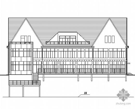 某三层美式别墅施工图