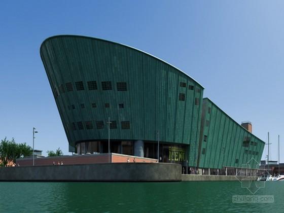 船形建筑3D模型下载