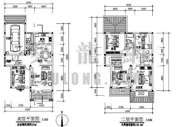 三层别墅设计方案-4