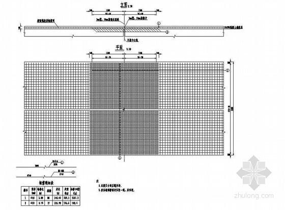 5×15米预应力混凝土空心板桥面连续钢筋构造节点详图设计