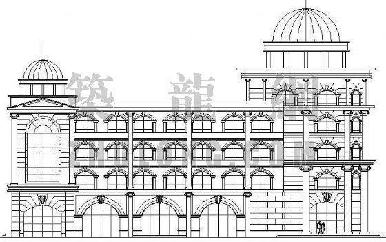 某邮政大楼建筑设计方案
