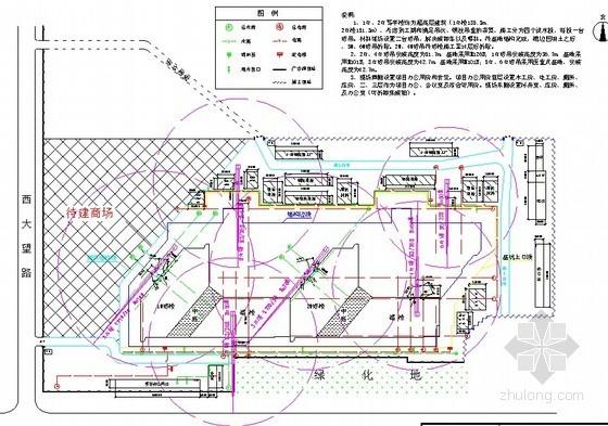 塔吊施工方案图汇总(37个项目)