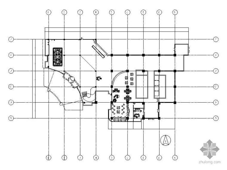[毕业设计]中式酒店大堂设计方案(含效果)