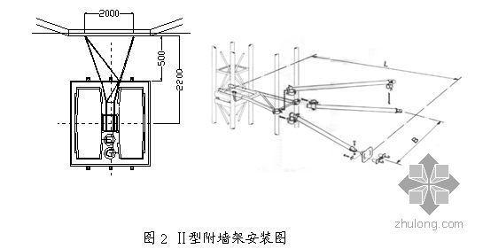 上海某项目人货电梯安装方案